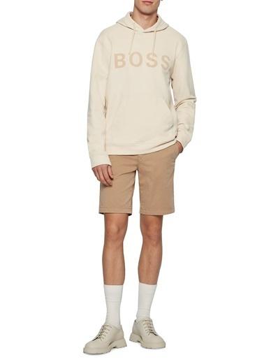 Hugo Boss  Pamuklu Slim Fit Short Erkek Short 50447772 262 Bej